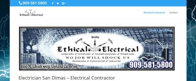 San Dimas CA Electrician