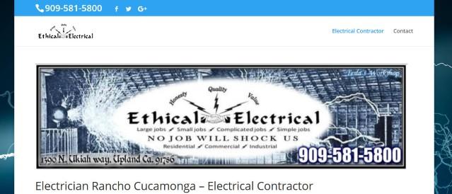 Electrician Rancho Cucamonga CA